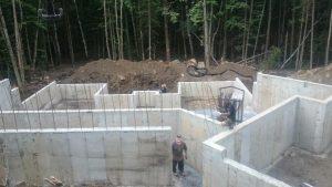 Réalisation fondations de maison